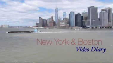 NewYorkBostonVideoDiary